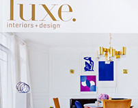 LUXE Magazine Covers & Tears, Spring 2014 Issues