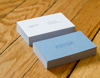 Podium - Business Cards