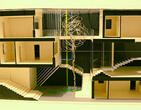 Square Residence - Residential building