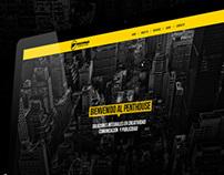 Grupo Más website concept
