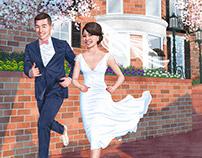Yoon and Celine Wedding Portrait