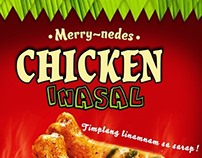 Sample Chicken Inasal Poster for Fresh Options Meatshop