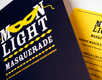 Moon Light Masquerade Invitation