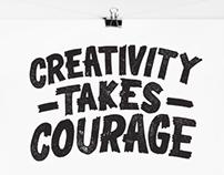 Creativity Takes Courage Print
