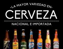 Cerveza Nacional e Importada
