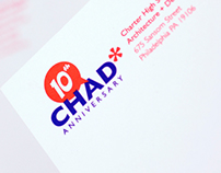CHAD Tenth Anniversary Logo