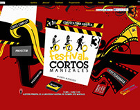 3th Shorfilm Festival of Manizales Website