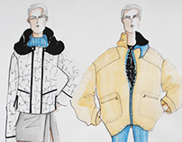 exchangeable coat collection