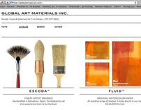Global Art Materials Website