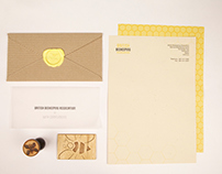 British beekeeping association stationery