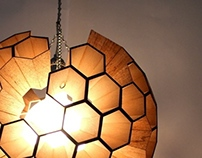 Lamp: Sphere of Hexagonal Cells