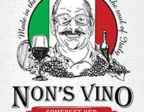 Non's Wine Label Design