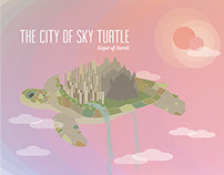 the city of sky turtle