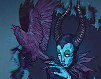 Maleficent -FanArt