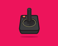 Video Game Controller Icon Set