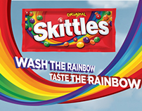 Skittles Laundry Campaign