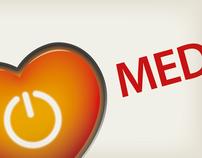 Logo for MedGuru, medical social network