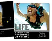 Skydive Panoramic Book