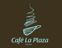 Café La Plaza - Identity