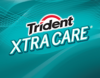 Trident Xtra Care | Brand Lettering/Logotype