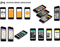 App Design / Glug Summer Festival