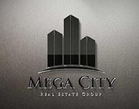 Mega City Real Estate Logo Template
