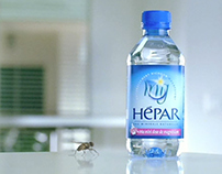 Hépar - mini bottles / The fly