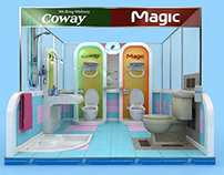 Coway & Magic Display Area 3x3m