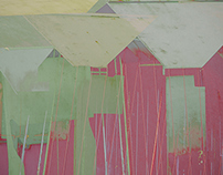 Patchwork pastels - beach huts deconstructed