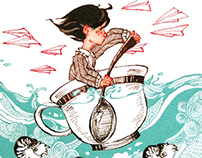 Storms and Teacups: Illustrations 2008-10