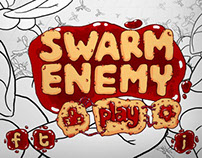 SWARM ENEMY IPAD GAME CONCEPT