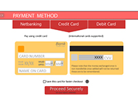 Payment Gateway UI Redesign