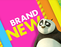 Nickelodeon Promo Branding