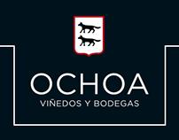 Bodegas Ochoa - Diseño web