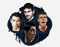 Real Madrid modern legends