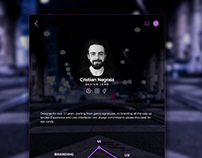 Profile page - Inspiration