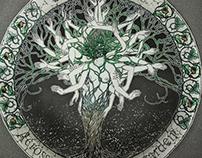 'API' | SHE OAK 'Across The Howling Garden' cover