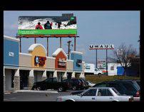 Billboard for Mcghee Tyson Airport