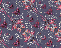 Wallpaper pattern design 22 Edouard Artus ©2014