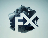 C4D Black Sphere - logo animation © FREMOX