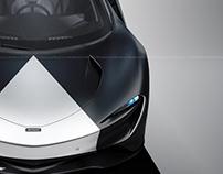McLaren Speedtail Titanium Cannonball