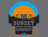 Sunset Campout T-shirt Competition