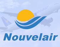 NOUVELAIR airlines,      Folder , print