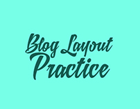 Blog Layout Practice