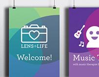 Event Branding: Lens on Life
