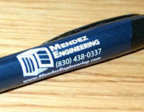 Mendez Engineering - Specialty Item, Pen
