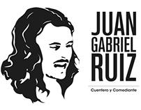 JUAN GABRIEL RUIZ cuentero y comediante