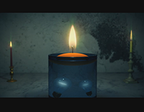 Realistic Candle Flame