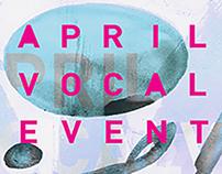 April Vocal Events