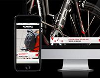 Outdoor Gear company website-biking
